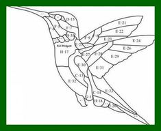 Ideas For Embroidery Bird Stained Glass Stained Glass Patterns Free, Stained Glass Birds, Stained Glass Crafts, Stained Glass Designs, Mosaic Patterns, Bird Embroidery, Embroidery Jewelry, Beaded Embroidery, Applique Patterns