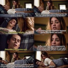 """S4 Ep11 """"A Promise to the Dead"""" - Malia and Stiles"""