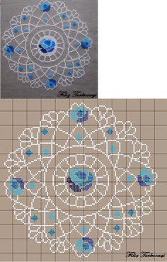İstek üzerine...( On Popular Demand ) Designed and stitched by Filiz Türkocağı