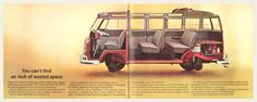 1962 Volkswagen Type 2 Bus Brochure I OldBrochures.com