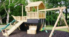 Pirate Ship Playhouse
