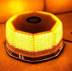 Amazon.com: XKTTSUEERCRR NEW Bright 240 LED Truck Vehicle Car Roof Top Flash Strobe Emergency Warning Hazard Warning Light Yellow Amber: Automotive