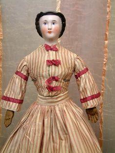 "Extraordinarily Rare 22"" Antique China Doll All Original With ..."