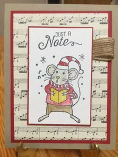 Image result for stampin up Merry Mice