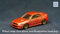TOMICA 054H SUBARU IMPREZA GDB #WHEELSWAP #LOWDOWN | v.71 | MESH GOLD Subaru Cars, Old Models, Subaru Impreza, Diecast, Auction, Miniatures, Mesh, Vehicles, Gold