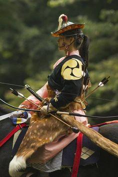 Japanese traditional mounted archery, Yabusame 流鏑馬
