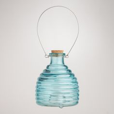 {fun decorating touch for outdoors} Glass Wasp Catcher at Cost Plus World Market >> #WorldMarket Outdoor Movie Night
