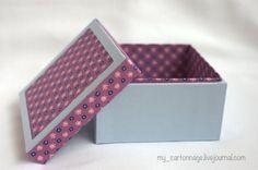 Предлагаю вашему вниманию мастер-класс по изготовлению вот такой квадратной шкатулки в технике картонаж. Итак, приступим. Материалы: картон 3мм, 1мм, ватман (или бумага для акварели), х/б ткани (количество зависит только от вашей фантазии), клей ПВА, Момент. Инструменты: канцелярский нож, ножницы,…