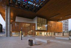 Centro Cultural Gabriela Mistral | CFA Cristian Fernandez Arquitectos