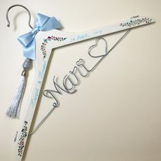 Custom Hanger handmade, luxury design, made with rhinestones