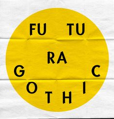 MY TUM—BLR IS BET—TER THAN YOURS - ambdxtrous:   Futura Gothic, 2011