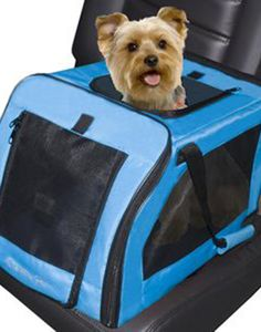 Do your holiday plans include traveling with your pet? Make sure they're safe and sound in this sleek carrier.