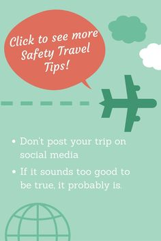 5 safety travel tips