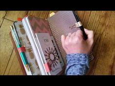 Filofax Malden Planner Set Up - YouTube
