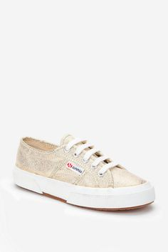 Urban Outfitters, Superga Glitter Lace-Up Sneaker.