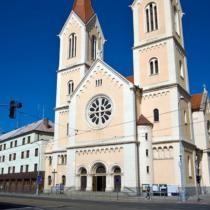 Česká píseň v kostele na Chodském náměstí