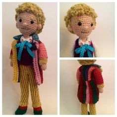 How about crocheting your own Doctor Who series dolls? Shown here, 1st, 3rd, and 6th Doctors. You can get all of the patterns at CraftyIsCoolCrochet's Etsy shop. Well, that might wrap up my crochet...