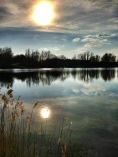 Rotter See in Troisdorf, Nordrhein-Westfalen