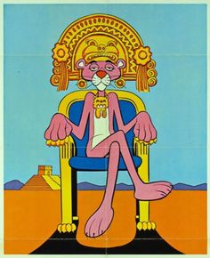 Inca pink panther throne