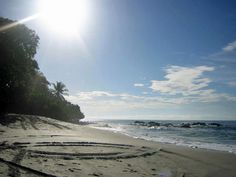 #beach at Ylang Ylang Beach Resort, Montezuma, Costa Rica