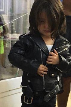 Les durs à Cuir - Perfecto en cuir pour enfant - modèle CHARLIE
