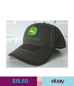 1fffa058a1f Hats John Deere Canvas Olive Cap Hat W Contrast Stitching Adjustable  ebay  Fashion  Caps