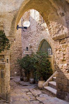 Old Jaffa - Israel http://www.pinterest.com/jodynat/history/