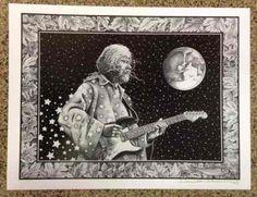 Poster Featuring Jimi Hendrix John Lennon Jerry Garcia