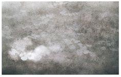 """Gray Cloud Reflection""   watercolor by Robert Gross"