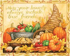 Susan Winget, Linda Nelson Stocks, Lowell Herrero, Lisa Kaus and more! Thanksgiving Art Projects, 2015 Wallpaper, Thanksgiving Wallpaper, Art Calendar, Christmas Blessings, Human Art, Autumn Art, Chalk Art, Pictures To Draw
