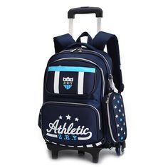 ce4b0b0248 Removable Children Wheels bags Trolley School Bags boys girls Kids backpacks  Schoolbag Luggage Book Bag Wheeled Backpack kids. Yesterday s price  US   94.88 ...