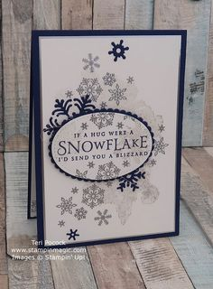 Stampin' Up! UK Demonstrator - Teri Pocock: Beautiful Blizzard - What's New At Stampin' Up!