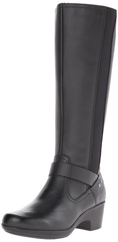 Clarks Women's Malia Willo Riding Boot >>> You can get more details here : Women's boots