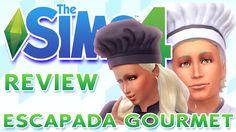 Los Sims 4 REVIEW ESCAPADA GOURMET ♥tesasims♥