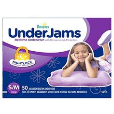 online shopping for Pampers UnderJams Disposable Bedtime Underwear Girls Size S/M, 50 Count, SUPER from top store. See new offer for Pampers UnderJams Disposable Bedtime Underwear Girls Size S/M, 50 Count, SUPER Cruisers, Pvc Hose, Baby Potty, Bed Wetting, Toilet Training, Potty Training, Training Pants, Packaging, Disposable Diapers