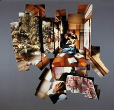 """""""joiners"""" - Creative Polaroid Collages by David Hockney"""