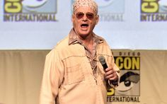 SAN DIEGO, CA - JULY 09:  Actor Bill Murray speaks onstage at the Open Road panel during Comic-Con International 2015 at the San Diego Convention Center on July 9, 2015 in San Diego, California.