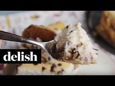 Best Chocolate Chip Cookie Cheesecake Recipe - How to Make a Chocolate Chip Cookie Cheesecake