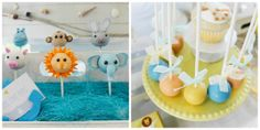 Cake pops I made for Events by Nat.  She styled a Noah's Ark table.