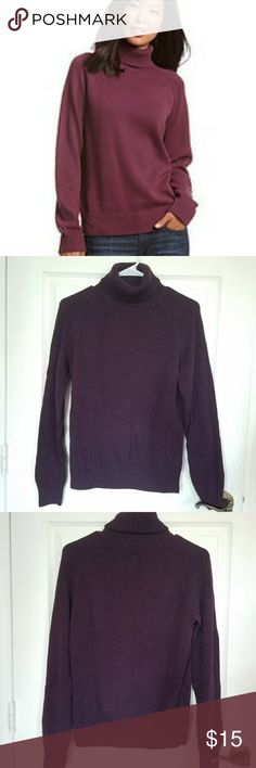 JEANNE PIERRE turtleneck 100% cotton Knitted design *Please note that my  item is in