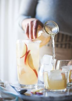 The Bojon Gourmet: White Nectarine Prosecco Sangría with Ginger & Elderflower, and why I said YES to a book deal (!)