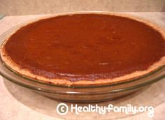 A Gluten and Dairy free Pumpkin Pie Recipe with Canned Pumpkin