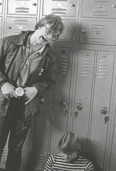 Jeffrey Dahmer Goofing Around As A Teenager.