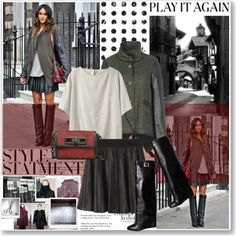 """""""Street Style Star : Chic Coats"""" by lidia-solymosi on Polyvore"""