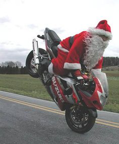 Funny Picture - Santa Pimpin Out