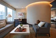Deluxe One Bed Room Suite #LivingRoom デラックスワンベッドルームスイート