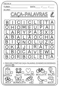 Atividade pronta: Caça-palavras - A Arte de Ensinar e Aprender Interactive Activities, Preschool Activities, School Worksheets, School Subjects, Too Cool For School, Google Classroom, Colorful Backgrounds, Your Teacher, Professor