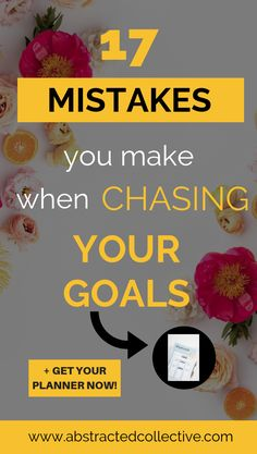Do you set goals but never achieve them? Here are 17 mistakes you might be making when goal setting. Download your free checklist and find out which mistakes you are making and the goal setting tips to turn things around! #goals #setgoals #goalsetting #mistakes Self Development, Personal Development, Happiness Challenge, Goal Planning, School Motivation, Goals Planner, Personal Goals, Health Goals, Setting Goals