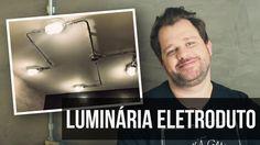 Reforma da Cozinha - Como fazer uma luminária com eletroduto