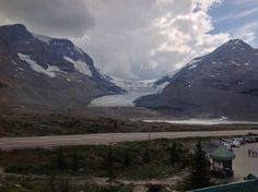 Canada. Athabasca Glacier. Icefield